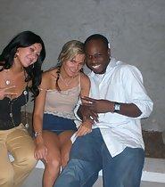 Pussy slip of drunk friend