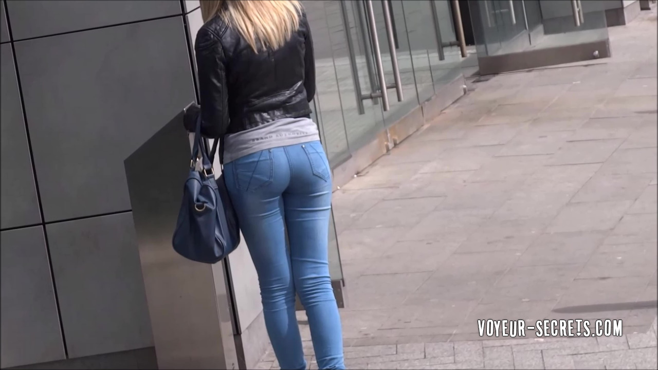 Can suggest Jeans tight voyeur share