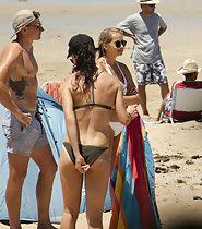 Voyeur creepshots all over beach