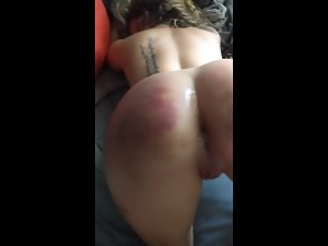 Party girl's ass is too tight to receive a fat dick Picture 1