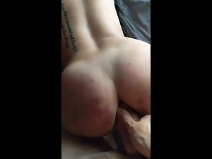 Party girl's ass is too tight to receive a fat dick Picture 3