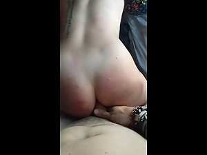Party girl's ass is too tight to receive a fat dick Picture 6
