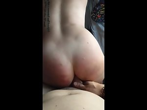 Party girl's ass is too tight to receive a fat dick Picture 7