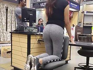 Nice big ass placed on a pedestal