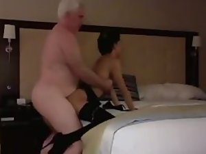 Old guy fucked and filmed a young whore