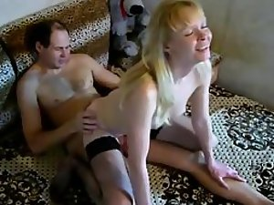 Big smile for an orgasm