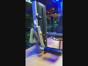 Best ass in the gym caught by voyeur Picture 1
