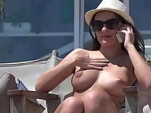 Magnetic attraction to a pair of boobs