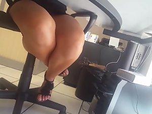 upskirt co-worker 2