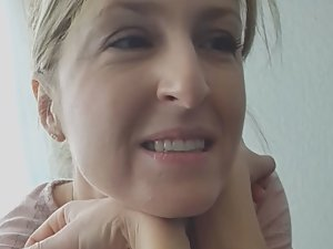 Juicy tits of wife's friend