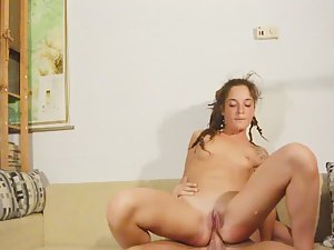 Hippie gets it in her tight asshole Picture 3