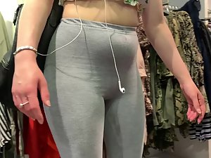 Sexy daughter shopping around with fat mother Picture 1