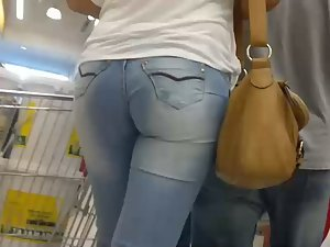 Wide hips of a real woman