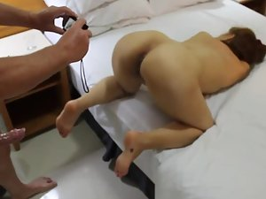 Fun with wife in doggy style