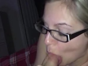 Nice way to finish an awesome blowjob
