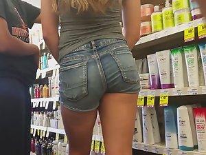 Sweet girl's ass stands above rest