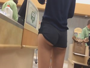 Delicious little ass of a skinny girl Picture 8