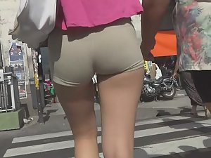 Tight shorts designed to advertise Picture 6