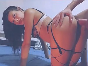 Incredible slut gets her ass stuffed