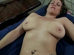 Boy fucks experienced young milf