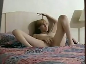 Peeping on a little pussy getting fingered