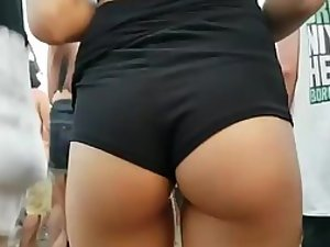 Party girl's amazing little ass