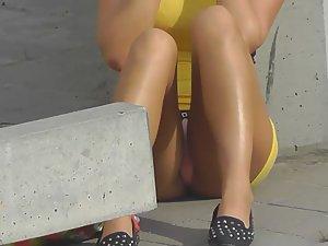 Anus stretching video