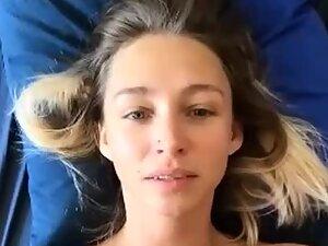 Cum splatter on a beautiful face