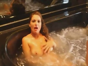 Fun with slut in the jacuzzi