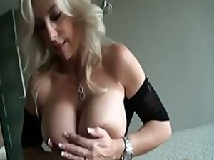 Sex with a seductive milf in hot lingerie
