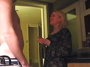 Plumber fucks a hot blonde woman