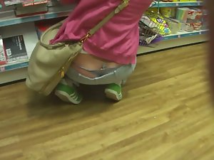 Hipster girl's thong whale tail Picture 7