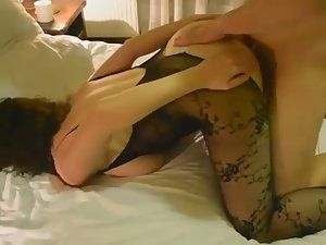 Wife anally ravaged in front of cuckold