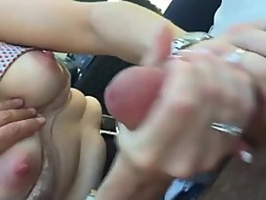 Demanding husband wanted a handjob