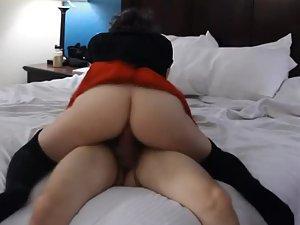 Cute girl badly needs his rigid dick