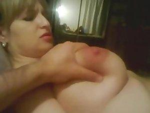 Night of fun with a gigantic slut