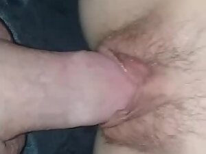Juicy tight pussy filled up with hard cock