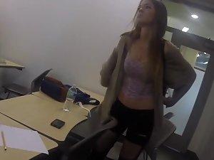 Hottest and sluttiest girl in the school
