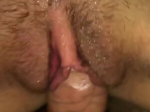 Horny girl knows what feels best for her
