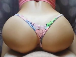 Twerking and fucking a sexy girl