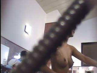 bad ass girls naked shooting guns