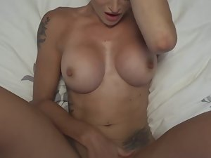 Sex with epic tattooed blonde Picture 7
