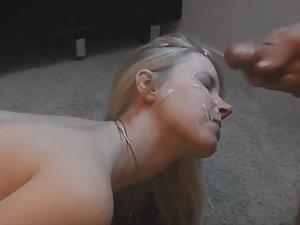 Love helps her endure hard anal sex