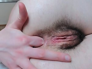 Alternative girl with an anal sex fetish