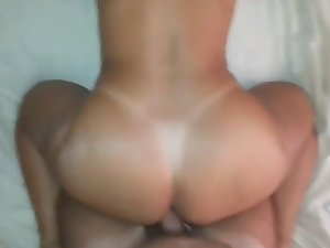 Hard anal sex in doggy style pose