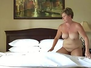 Quality sex of a mature couple