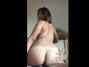 Oriental housewife likes being filmed during sex