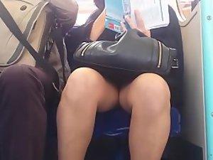 Fuckable mature lady peeped on
