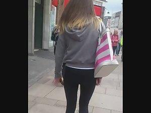 Innocent looking teen gets stalked on street