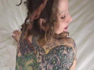 Young alternative slut fucked hard